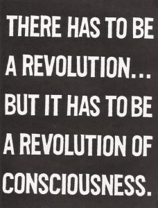 Revolution of consciousness